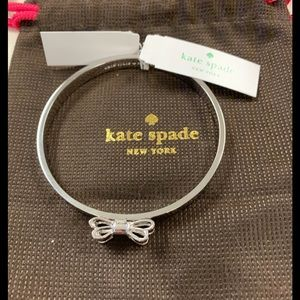 Kate Spade Silver moon bracelet NWT